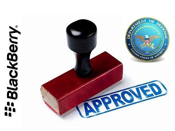 Blackberry  拿下美國國防部新管理系統 98% 訂單