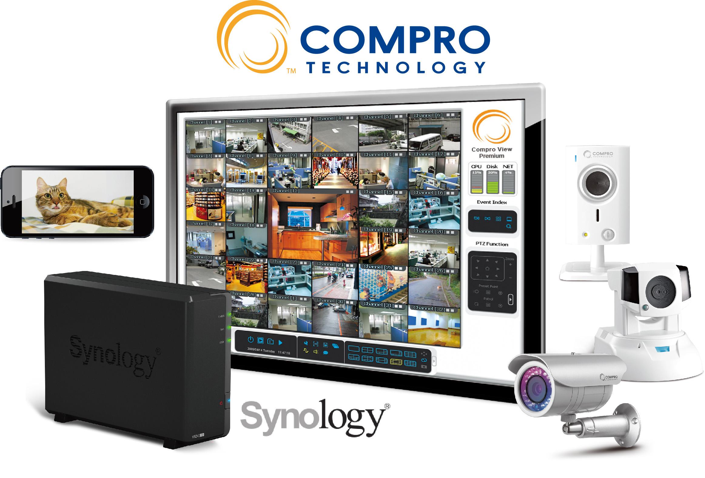 康博(COMPRO)提昇與群暉(Synology) NAS的合作緊密度
