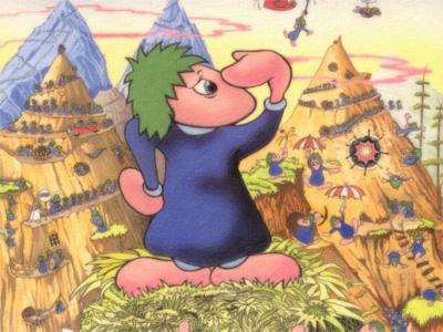 經典系列遊戲回顧 可愛逗趣的《百戰小旅鼠》