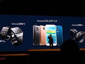 Samsung 發表 Galaxy S5 以及三款智慧型手錶