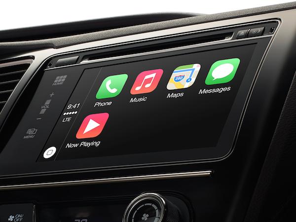 開車也能玩手機,Apple 正式推出 CarPlay