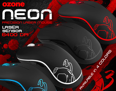 無比精準的炫目霓虹,Ozone Gaming最新戰鬥利器-NEON。