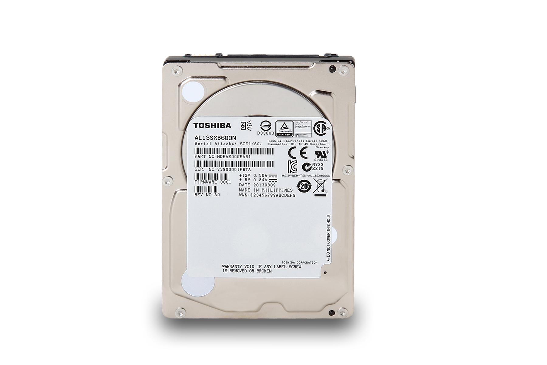 引領新世代,Toshiba推出AL13SX 系列企業用硬碟。