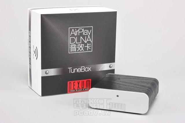 Nexum TuneBox 無線音樂串流轉接器,Wi-Fi 傳輸高音質不壓縮 | T客邦