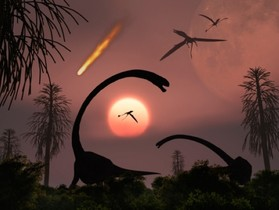 恐龍滅絕是暗物質幹的好事嗎?