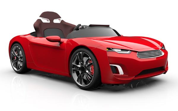Broon:打出真車規格賣點、配備 Android 平板的豪華兒童電動玩具車