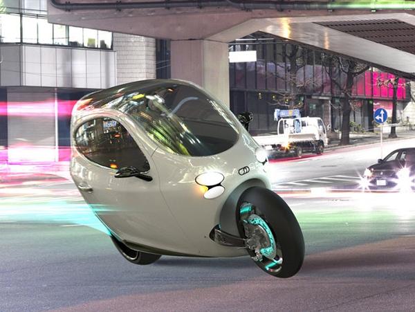 就算你用 SUV 從側面撞擊也不會倒的電動機車 LIT Motors  C1