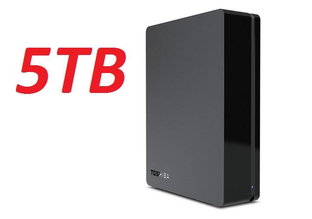 5TB來了!Toshiba Canvio Desk Desktop 5TB,首波僅195美元
