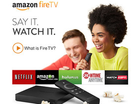 Amazon 機上盒來了!99美元 Fire TV 滿足影音與遊戲娛樂