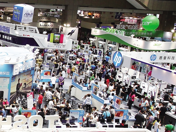 2014 春電展採購趨勢:行動裝置、筆電平板、數位影像、電腦周邊全線搜