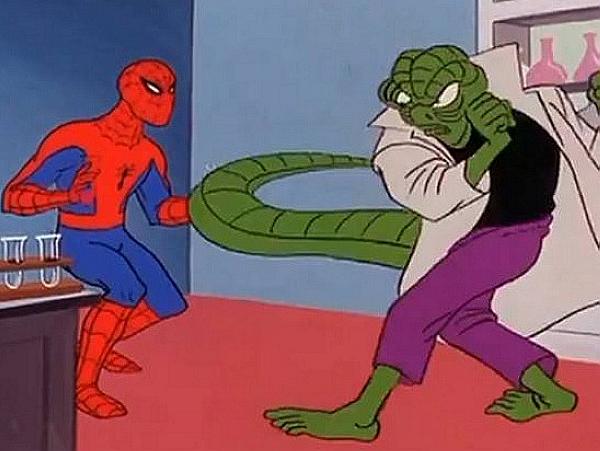 新舊世代的動畫影集蜘蛛人,跨時代大活躍