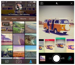 Flickr 3.0 App 更新:質感介面,拍照即時顯示濾鏡、也能調整色調