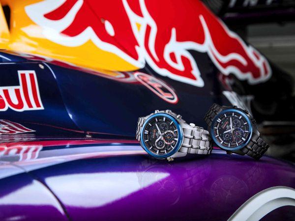 CASIO EDIFICE x Infiniti Red Bull Racing攜手打造紀念聯名錶款!消費滿額贈限量聯名運動風毛巾