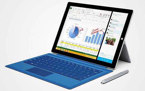 Surface mini 缺席,12吋的 Surface Pro 3 要取代筆記型電腦