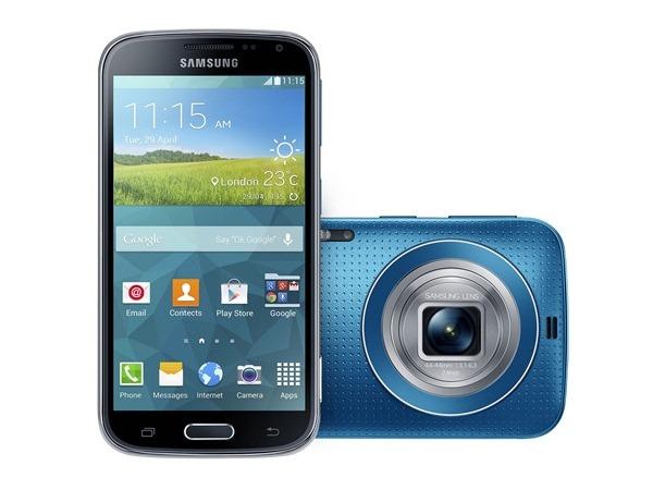 Samsung GALAXY K zoom 跨界力作正式登台!全台最強4G LTE Cat.4極速,中華電信獨家販售!