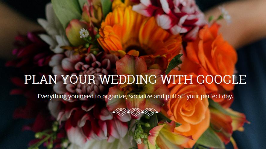 只需六個步驟,Google 幫你搞定一場婚禮
