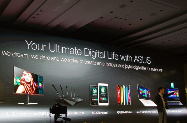 Computex 2014 : Asus  五合一筆電 Transformer Book V 、 4k 筆電 Zenbook NX500 登場