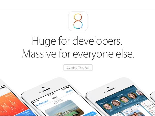 WWDC 2014: iCloud Drive 、快捷聯絡人... iOS 8 的 10 大重點功能快速掃描