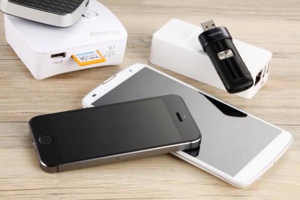 5款 Wi-Fi隨身碟/記憶卡/讀卡機 實測,讓手機容量無限倍增