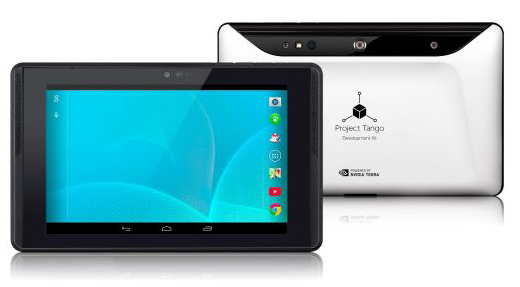 Google 未來平板 Project Tango Tablet,把現實世界轉換成 3D 立體模型