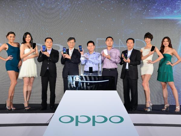 至美手機品牌OPPO磅礡抵台,發表旗艦機種Find 7 美型、音效、影像、閃充,完美演繹科技與藝術的不凡境界!