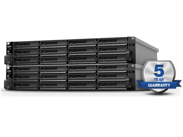 Synology® 為 XS/XS+ 系列產品推出五年保固與免運費換修服務(SRS)!