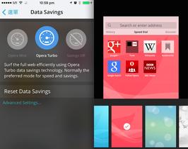 iOS 專用 Opera Mini 大改版,內建 Opera Turbo 壓縮模式、探索即時新聞、QR code 掃描器