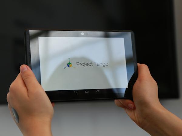 2015 年市售版問世,Project Tango 動手玩 :Google 對行動裝置的新詮釋