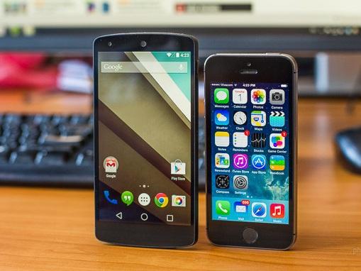 今秋開打的系統之戰,兩大系統超級比一比:Android L v.s. iOS 8