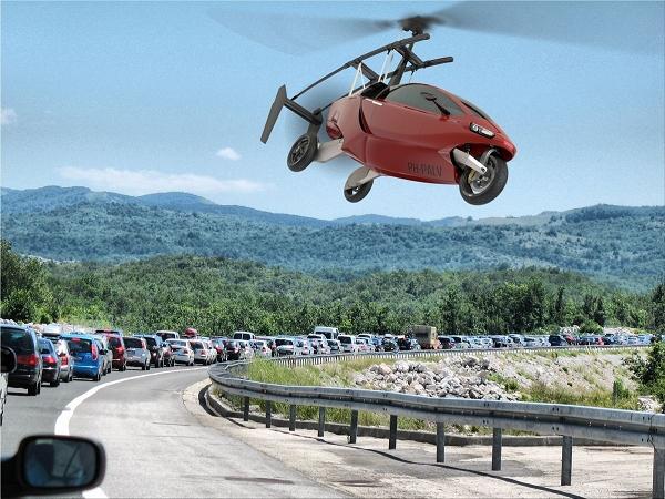 摩拖車不只能下海,現在也能飛天了!世界上第一款飛行摩托車 Pal-V One 正式對外發售