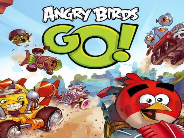 彈弓與賽車的嶄新結合!《Angry Birds GO!》