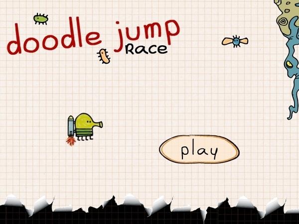 Doodle Jump再度出擊! 《Doodle Jump Race》