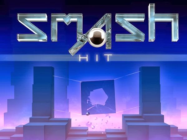 隨著音樂與節奏,盡情破壞所有物體吧!《Smash Hit 猛烈衝擊》