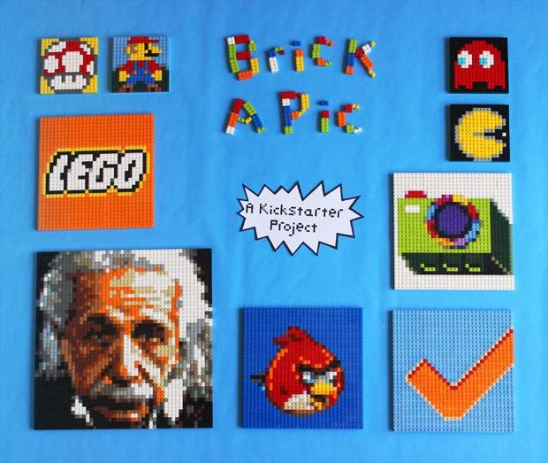 Brick-A-Pic,用樂高排出你的照片吧