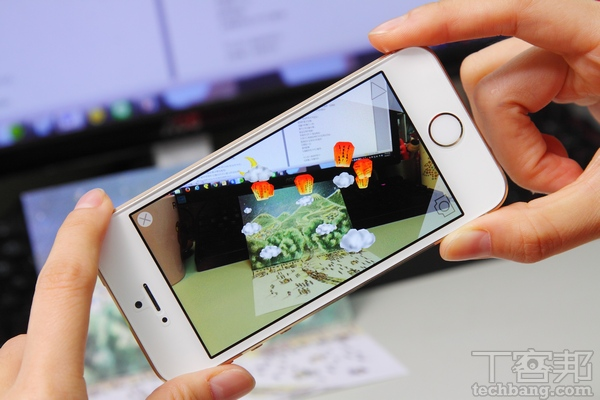 擴增實境好好玩!現實與虛擬結合的3D奇幻空間, VisionLens App 帶你體驗AR效果