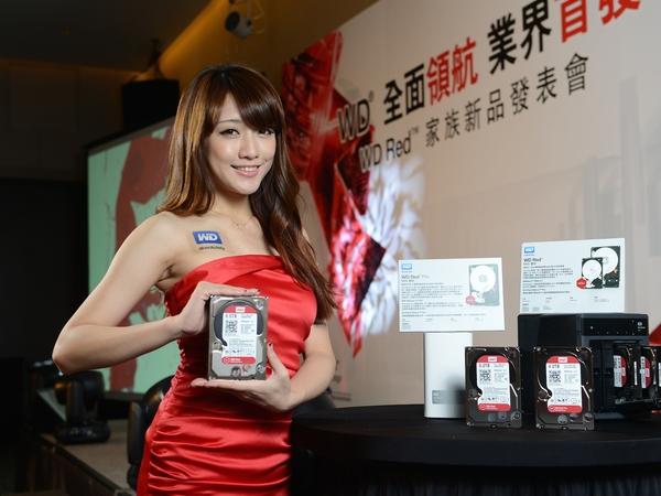 WD Red NAS專用硬碟系列家族再推新成員,容量上看6TB,還有進階Red Pro專攻企業用戶