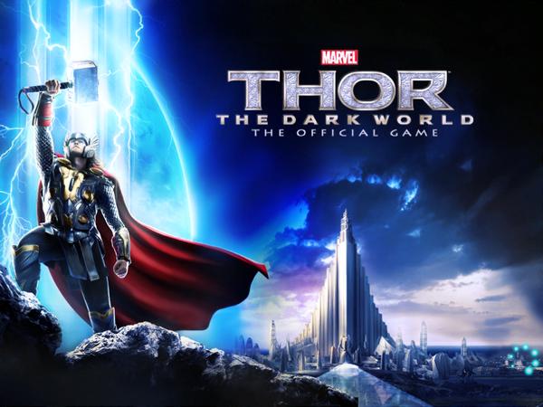 雷神索爾2:黑暗世界--電影同名遊戲上架!且看雷神與阿斯嘉大軍拯救九界