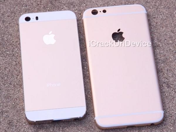中國生產線流出!4.7 吋香檳金 iPhone 6 外殼全高清開箱文!