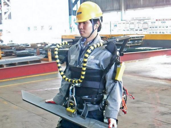 南韓開始在船廠實際測試外骨骼動力裝