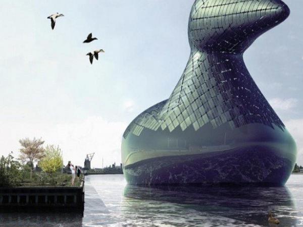 集環保和美觀於一身,水上能量鴨!