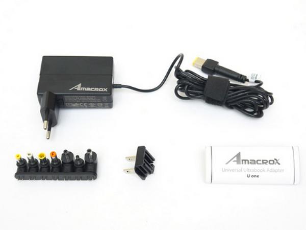 網友開箱  為Ultrabook多準備一個變壓器:Amacrox U one for Ultrabook
