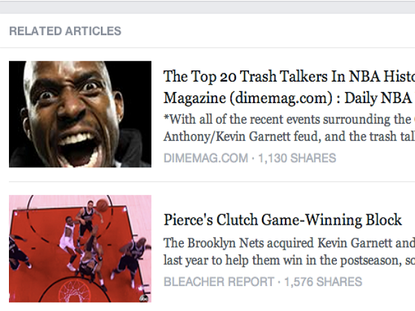 Facebook 分享動態下面的相關文章連結內容都是真的嗎?不見得喔!