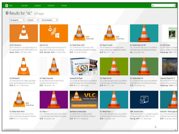 Windows 8線上商店App數量破10萬,但山寨軟體氾濫沒人管