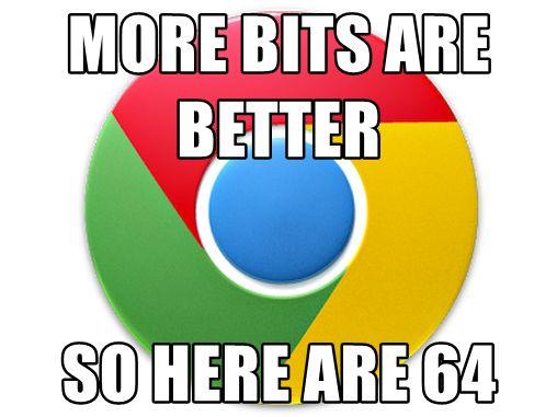 解決 Windows 7 上面Google Chrome 64 位元更新後消失的中文字