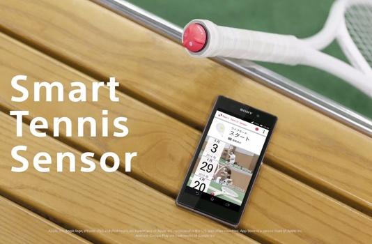 Sony 網球拍智慧感應器,追蹤你的擊球動作