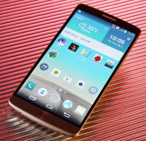 LG G3 評測:超高螢幕佔比 質感媲美金屬機身