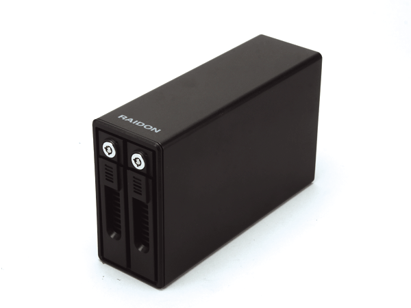 Raidon SafeTANK GR3660-B3外接盒:2-Bay設計用料扎實,傳輸速度與性價比高