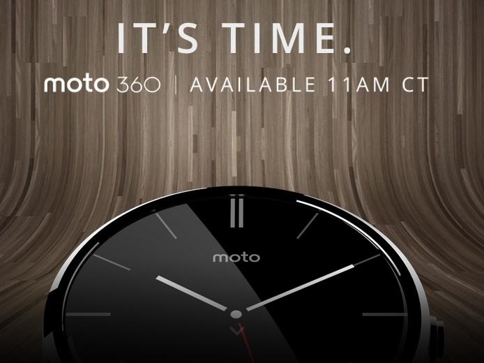 先做好手錶再談智慧,Motorola 發佈 Moto 360 智慧手錶