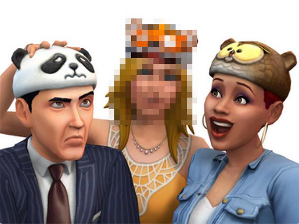 如果你玩盜版的模擬市民4,你的市民會被打上馬賽克