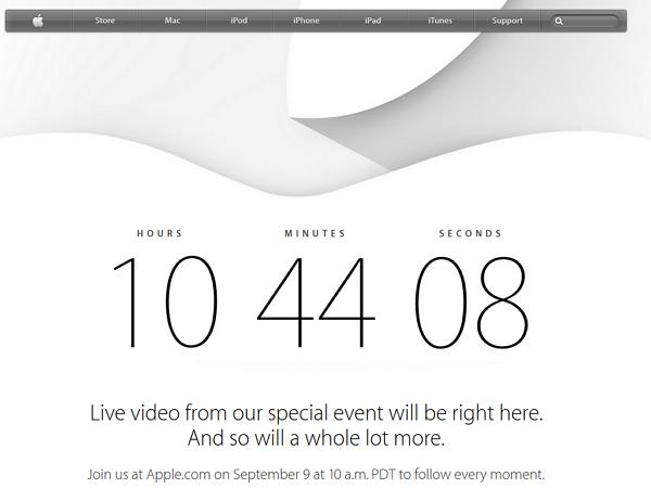 凌晨一點,在這裡熬夜爆肝看 2014 Apple 發表會轉播